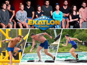 """În ediţia de marţi va avea loc prima eliminare din competiţia """"Exatlon""""! Ionuţ, Rafaela şi Radu, din Echipa Războinicilor, la judecata publicului"""