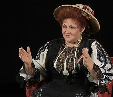 Elena Merisoreanu, jefuita. Artista a ramas fara un sfert de kilogram de aur