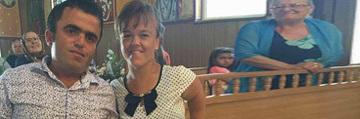 Sotia Piticului Colorado, in arena circului, la un an si doua luni de la moartea barbatului! Madalina nu si-a revenit nici azi dupa ce Cristian s-a stins