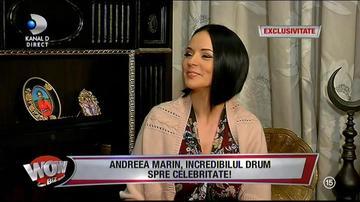 """Andreea Marin, mărturisiri incredibile: """"Nu am fost plătită bine la începutul """"Surprizelor"""""""