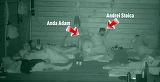 Detaliul pe care putini l-au observat aseara la Exatlon! Anda Adam si Andrei Stoica si-au unit saltelele si au dormit impreuna