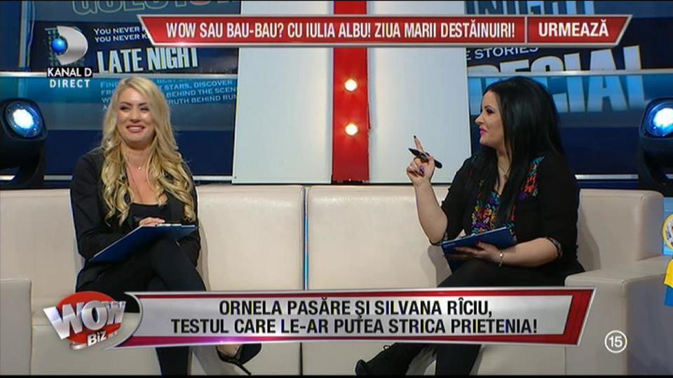 """Testul care ar fi putut să le strice prietenia! Ce a răspuns Silvana Rîciu la întrebarea """"La ce vârstă crezi că şi-a pierdut virginitatea prietena ta?"""" Reacţia Ornelei Pasăre te va surprinde"""
