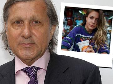 Fiica lui Ilie Nastase nu a implinit inca 15 ani, dar pozeaza deja ca un fotomodel profesionist! Alessia Nastase s-a fotografiat langa un fileu de tenis, imbracata intr-o bluza transparenta!
