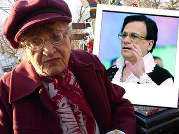 Povestea emotionanta a batranei de 88 de ani, aproape oarbe, care a refuzat sa se interneze in spital pentru a merge la mormantul lui Ion Dolanescu!