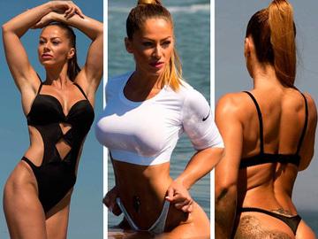 """Cele mai sexy imagini cu Alina de la """"Exatlon""""! Razboinica te ameteste cu formele ei"""