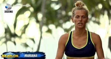 """Mariana, propunere inedită pentru Alina, la """"Exatlon"""": """"Facem baie împreună, da?"""""""