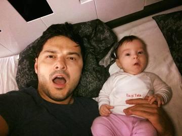 """Prima reactie a lui Liviu Varciu dupa ce Adelina a anuntat ca e gravida: """"Pe bune?"""""""
