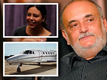 Dinu Patriciu si-a lasat fiica plina de datorii! Firma de transport aerian a Anei are pierderi de 24 de milioane de euro! EXCLUSIV