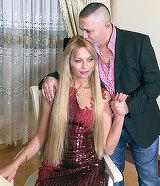 Se impaca cu Nicolae Guta? Cum a asteptat-o manelistul acasa pe Cristina? Blondina a ramas blocata cand a ajuns la el
