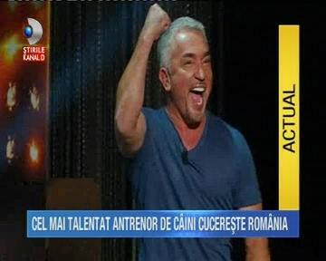 Cesar Millan, celebrul dresor de caini, revine in Romania, pe 1 aprilie!