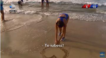 Pentru cine a facut Roxana de la Exatlon inima in nisip? El este sotul concurentei