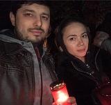 Imagini cu Anastasia Cecati mireasa, alaturi de sotul care a ucis-o! Alexei Mitachi a lasat-o moarta in casa, iar apoi s-a sinucis