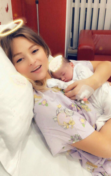 """Sora Deliei, despre problemele de sanatate ale fetitei ei: """"Exista un risc"""""""