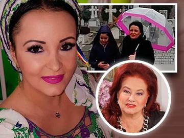 Silvana Riciu si fetita ei, la mormantul Stelei Popescu! Ce gest a facut micuta – Video Exclusiv