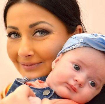Imagini dragalase cu Gabriela Cristea si Bella Margot Victoria! Cum ii canta vedeta fetitei sale?