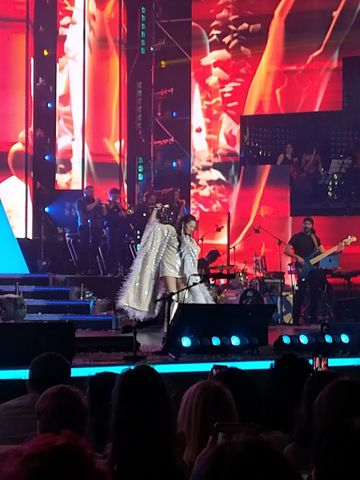 Surpriza de proportii la concertul Andrei! Cine a aparut pe scena alaturi de ea?