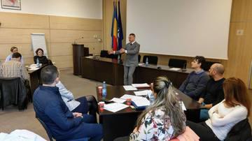 Christian Sabbagh, workshop cu responsabilii pe comunicare din Ministerul de Interne