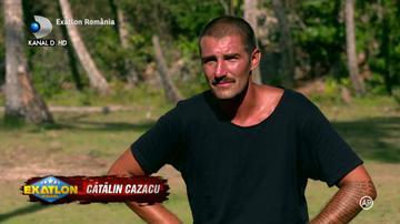 "Exatlon 18 martie. Catalin Cazacu si Alina si-au facut ochi dulci in timpul unei probe! ""Cred ca suntem sortiti"""