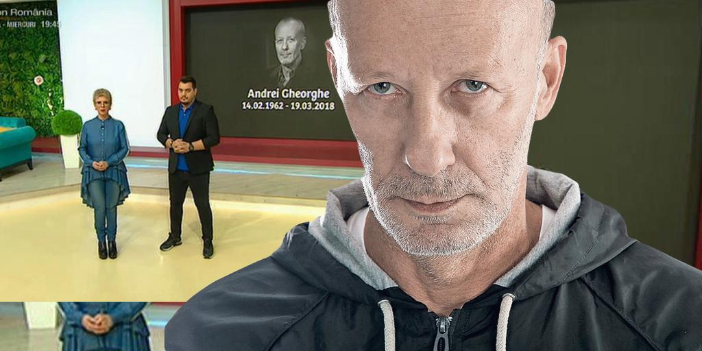 "Teo Trandafir, un ultim omagiu pentru Andrei Gheorghe: ""O sa spun adevaruri pe care nu as fi vrut sa le fi spus vreodata"""