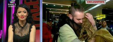 """Anca Surdu s-a intors de la Exatlon! Primele imagini cu fosta gimnasta pe aeroportul Otopeni: """"Deja imi lipseste concursul"""""""