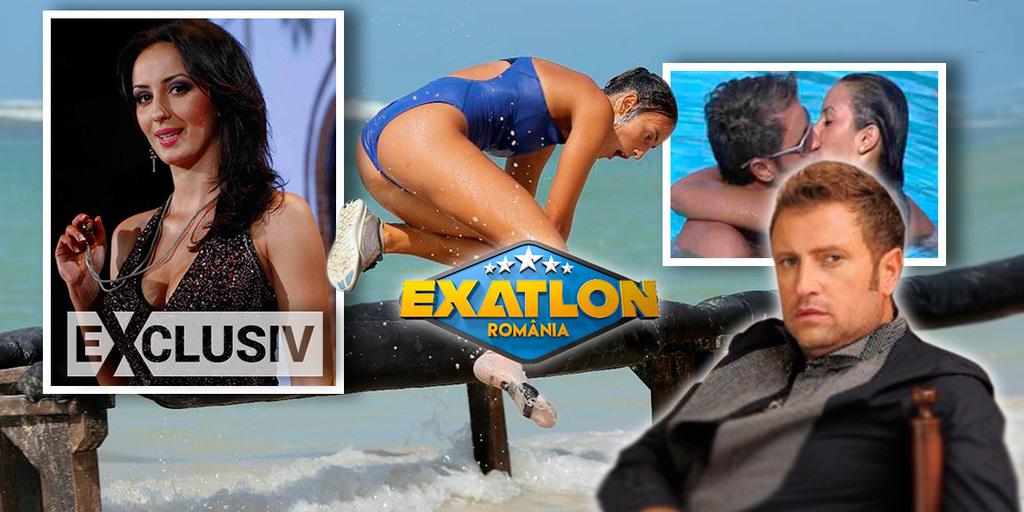 """Roxana de la Exatlon, sarut fierbinte cu Botezatu! """"Razboinica"""" a incercat sa il cucereasca pe creatorul de moda, cu ani in urma, intr-un show tv EXCLUSIV"""