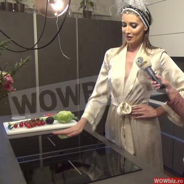 Am intrat in bucataria de zeci de mii de euro a Iuliei Albu! Are 4 cuptoare si 3 plite! VIDEO EXCLUSIV