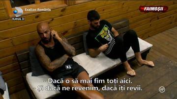"""Exatlon 24 martie. Tensiuni in echipa Faimosilor! Giani Kirita a urlat la colegii sai: """"Hai gata, ma, termina. O intinzi prea mult"""""""