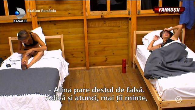 """Exatlon 24 martie. Faimosii au vorbit despre adevarata fata a Alinei: """"Este destul de falsa"""""""
