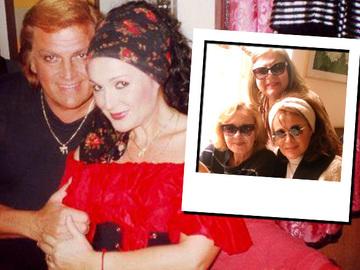 Fosta amanta a lui Florin Piersic a revenit in Romania! Uite-o pe femeia care a avut o relatie de 9 ani cu celebrul actor cum se distreaza alaturi de prietenele din tara!
