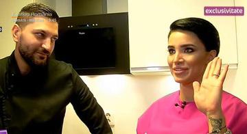 Adelina Pestritu si iubitul ei, primul interviu impreuna! O echipa de la Teo Show a mers la ei acasa! Virgil a dezvaluit ce defecte are bruneta