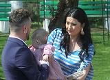 Cum s-a imbracat Gabriela Cristea la petrecerea de botez a fetitei sale? Avem imaginea!