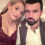 """Vlad Mirita si Maria Natura si-au botezat baiatul. """"Avem un copil foarte bun, parca are o intelepciune de om matur"""""""