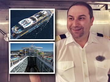 El este romanul care a ajuns sef pe cel mai mare vas de croaziera din lume! Catalin Buta are in subordine 1200 de oameni FOTO