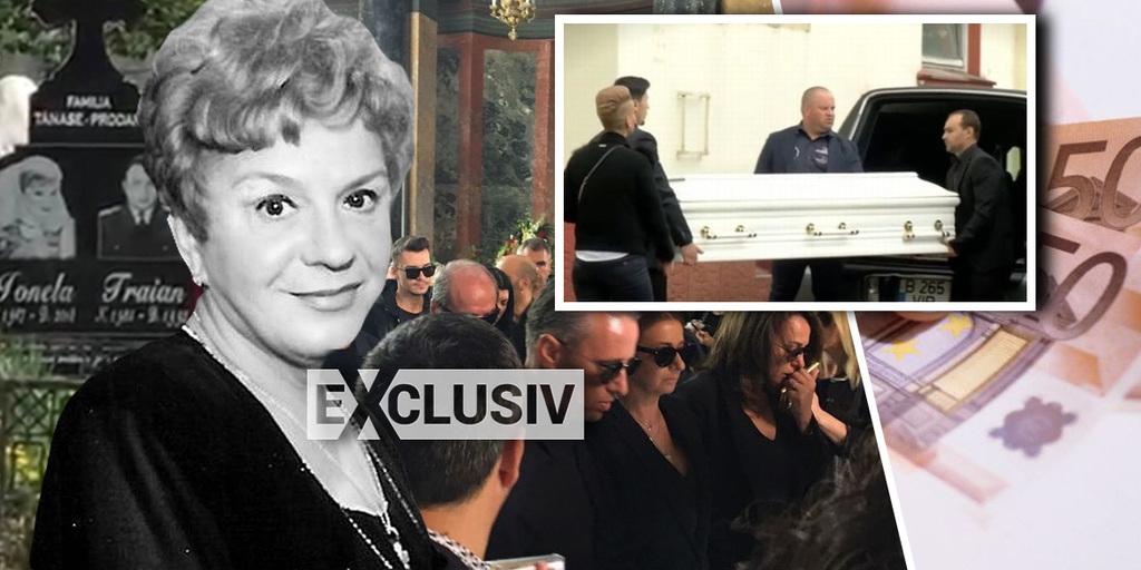 Cat a costat cu adevarat inmormantarea Ionelei Prodan! Suma s-a ridicat la aproximativ 30.000 de euro!   EXCLUSIV