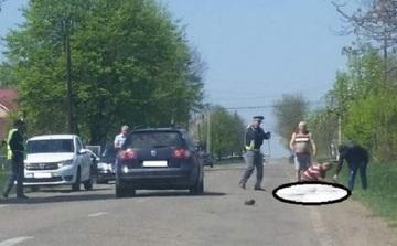 Un barbat din Botosani s-a aruncat de mai multe ori in fata masinilor! Ce a incercat sa faca