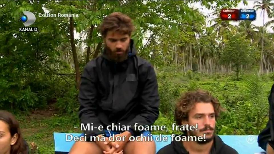 """Stefan de la Razboinici, pe punctul de a ceda! """"Mi-e foame rau, frate! Mi s-au inmuiat genunchii"""""""
