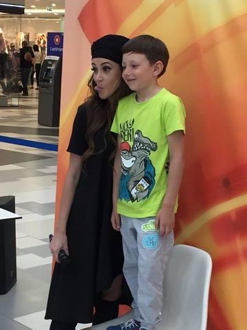 """Ana-Maria Barnoschi, atractia copiilor astazi, la castingul pentru """"Roata Norocului"""""""