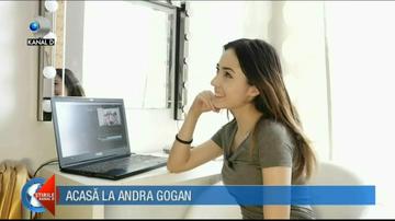 """Andra Gogan la """"Casa de vedeta""""- Locuinta simpaticei cantarete e plina de jucarii"""