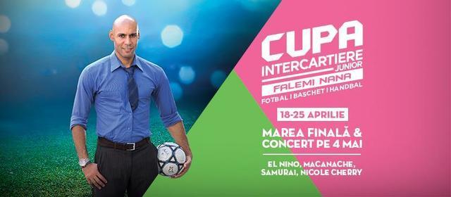 Falemi organizeaza competitii gratuite pentru copiii pasionati de fotbal, handbal si baschet
