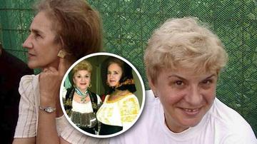 "Poza de colectie. Uite-le pe Ionela Prodan si pe Sofia Vicoveanca, in ""civil"", in Bucovina. Una este cocheta, cu rochie si cercei, cealalta, cu blugi si tricou."
