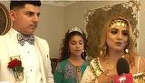 Florin Salam si Adrian Minune au facut mare show la nunta lor! Cine sunt mirii putred de bogati care si-au servit invitatii cu crocodil la protap?