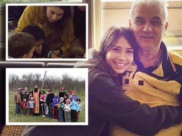 Fiica lui Anghel Iordanescu ajuta copiii nevoiasi! Vezi aici ce a facut Maria FOTO