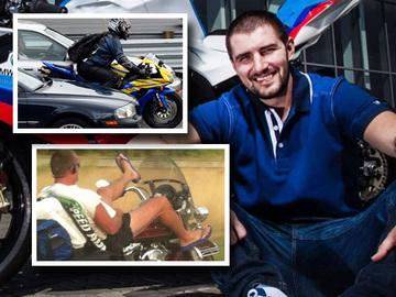"""Catalin Cazacu de la Exatlon e revoltat pe motocicistii iresponsabili: """"Motociclist nu e sinonim cu """"retard, idiot care merge in slapi, in viteza, printre maşini""""!"""