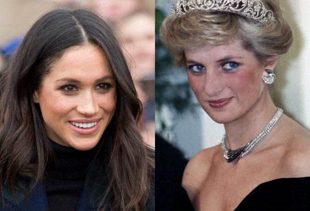 Coincidenta cutremuratoare intre Meghan Markle si Printesa Diana!