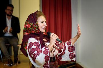 """Sofia Vicoveanca, spectacol cu Florin Piersic: """"Este cineva care nu il cunoaste?"""""""