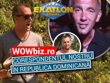 Mesajul lui Cosmin Cernat, inainte de incheierea show-ului Exatlon! Ce a transmis prin intermediul corespondentului special WOWbiz.ro in Republica Dominicana VIDEO EXCLUSIV