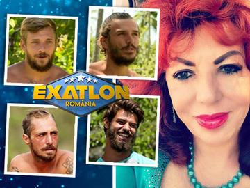 Surpriza! Pe cine vede Carmen Harra castigatorul Exatlon! A dat verdictul dupa ce a facut profilul psihologic al celor patru semifinalisti EXCLUSIV