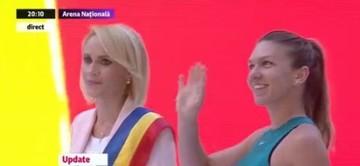 Cine ar fi trebuit sa-i inmaneze trofeul Simonei Halep, pe scena de la Arena Nationala? Gabriela Firea s-a enervat si a respins propunerea!