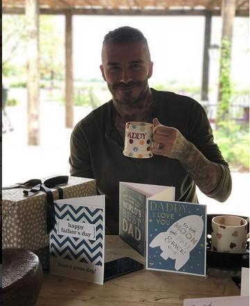 David Beckham a primit o scrisoare de la fetita lui. Ce i-a scris micuta Harper fotbalistului de Ziua Tatalui