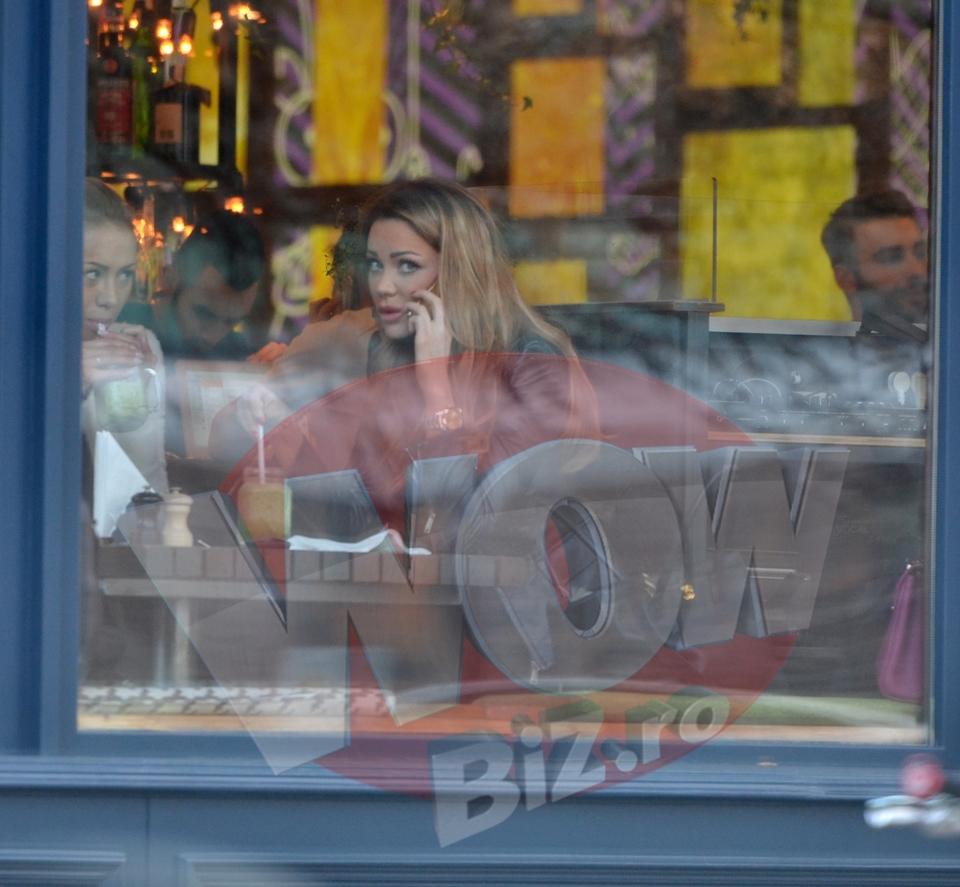 VIDEO EXCLUSIV! Primele poze cu Bianca Dragusanu dupa ce s-a aflat ca e gravida! Diva a iesit la restaurant - are deja pofte!